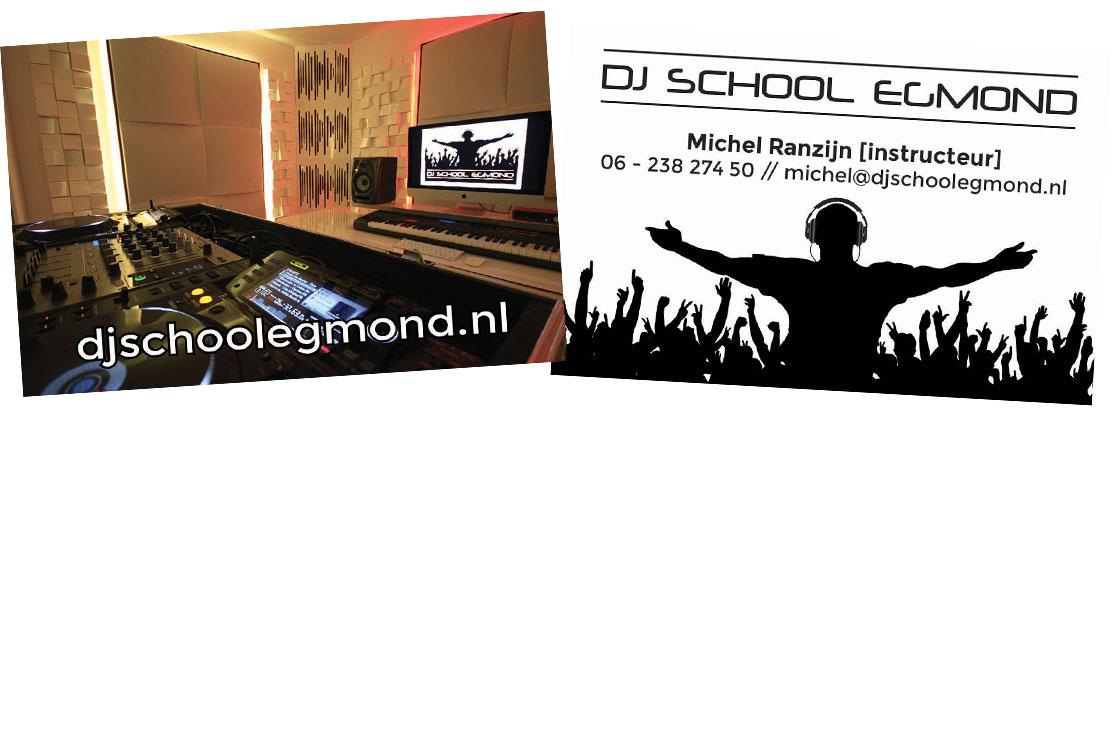DJSchoolEgmond_Visitekaartjes
