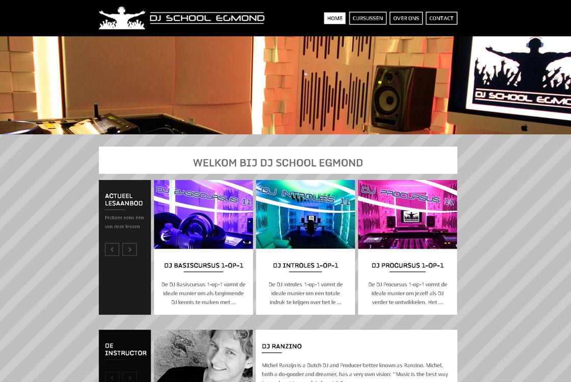DjSchoolEgmond-website