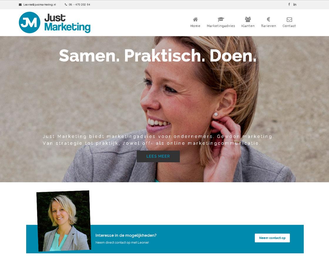 JustMarketing_website_marketingbureau