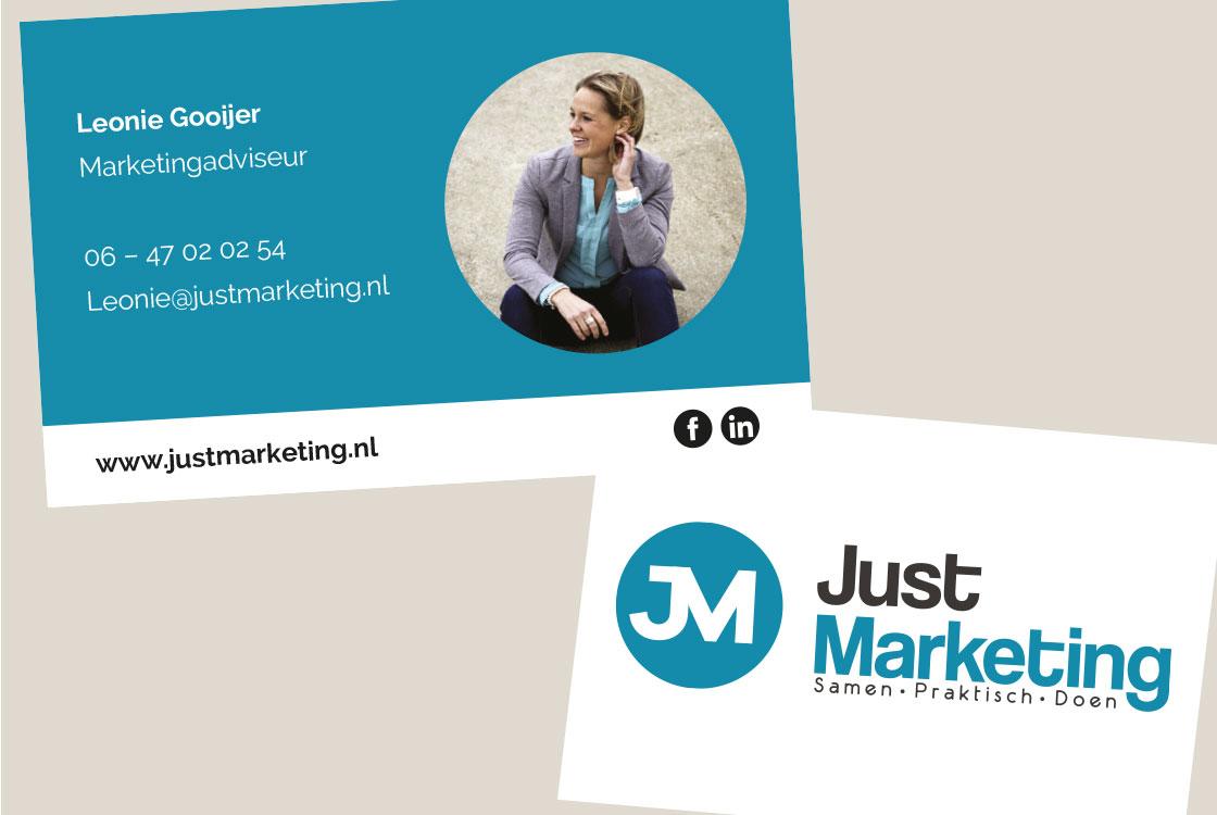 JustMarketing_visitekaartje_ontwerpen_alkmaar