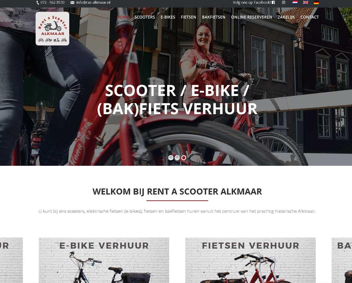 RentAScooter_Website_Maken_Alkmaar_Bergen_Heiloo_Heerhugowaard_ModerneMeestersReclamebureau