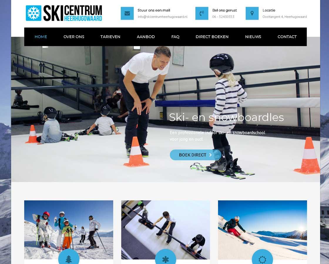 SkicentrumHeerhugowaard_Website_Maken_Alkmaar_Heerhugowaard