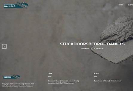 StucadoorsbedrijfDaniels_Wordpress_website_Schermer