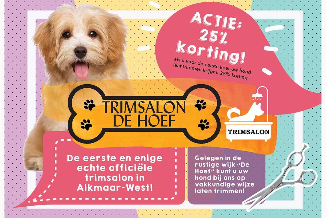 TrimsalonDeHoef_Flyer_Ontwerp_Alkmaar_ModerneMeesters