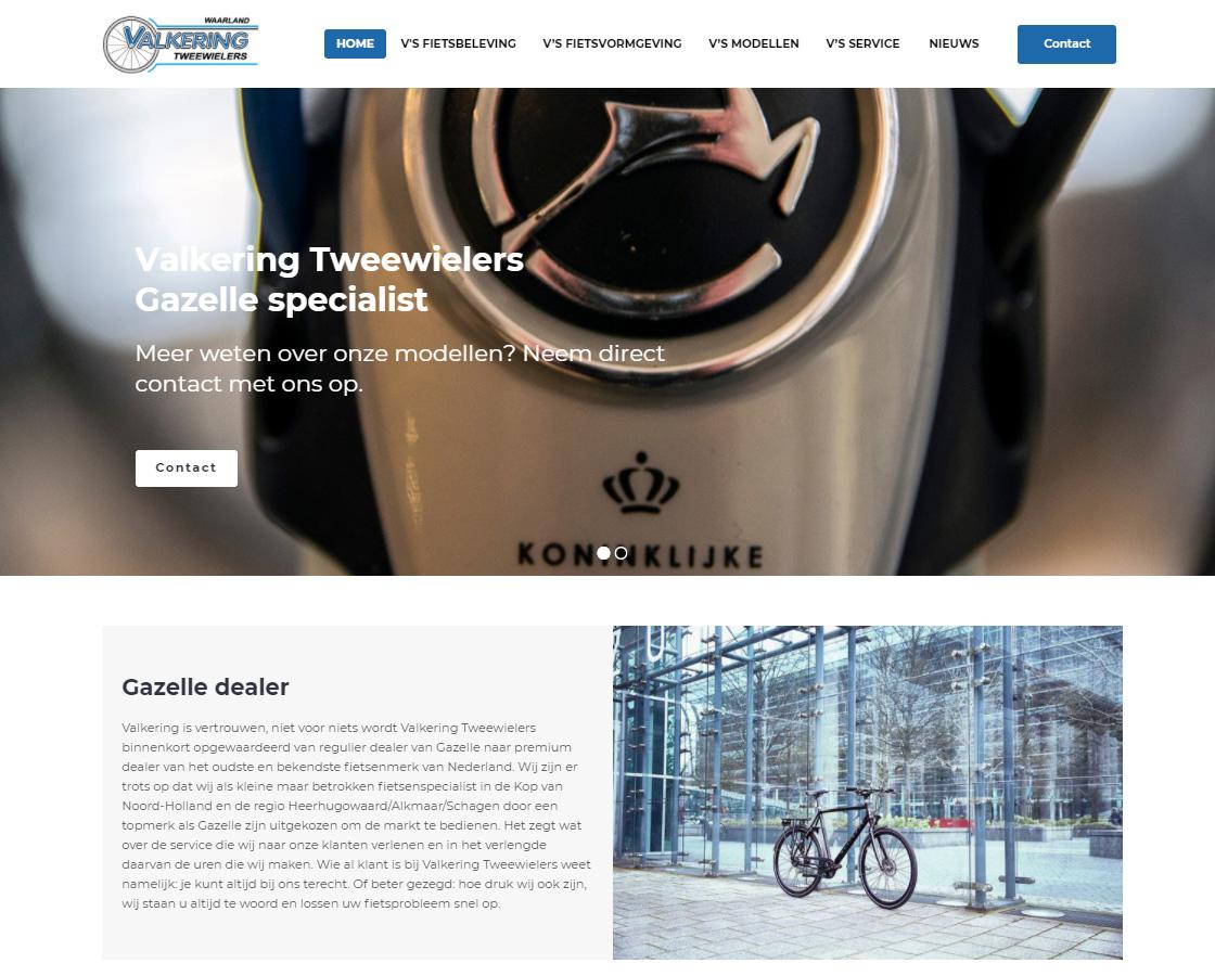 ValkeringTweewielers_Website_Wordpress_Schagen_Waarland_fietswinkel
