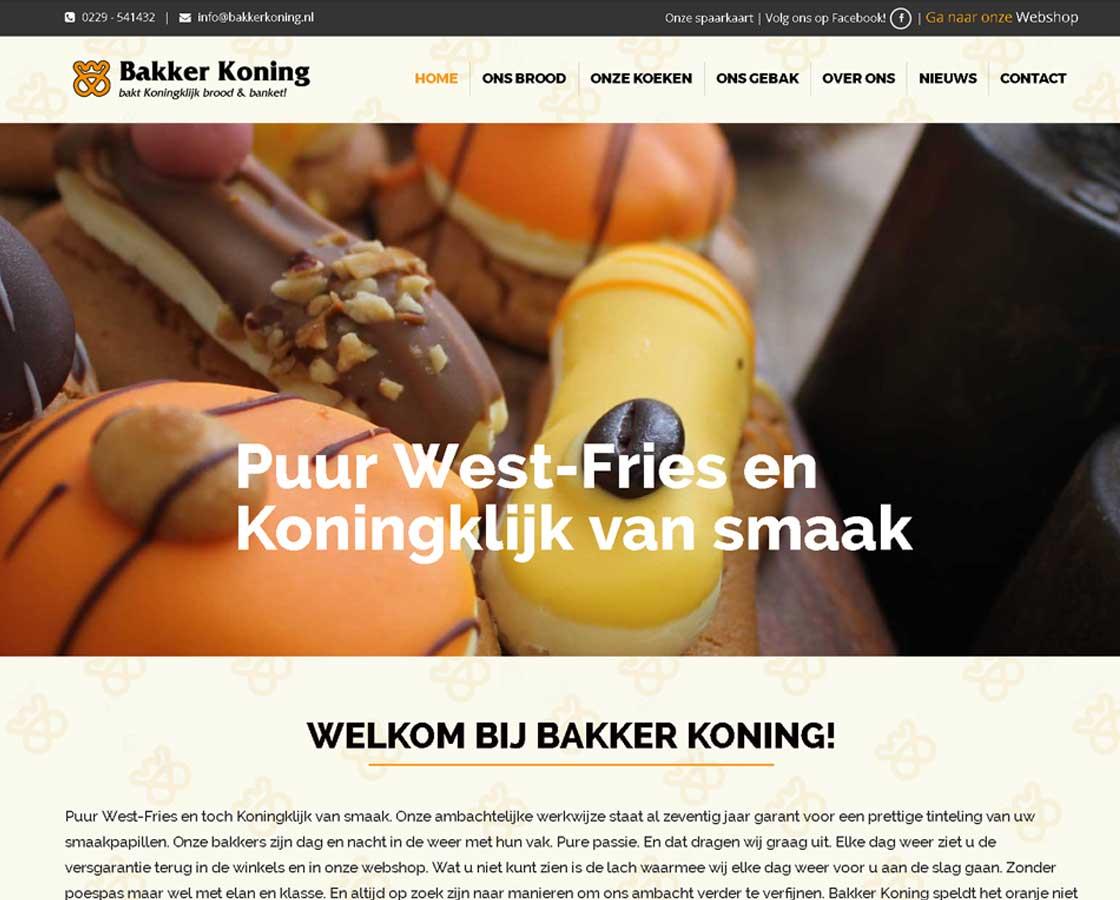 Website_BakkerijKoning_website_maken_Hoorn_Alkmaar