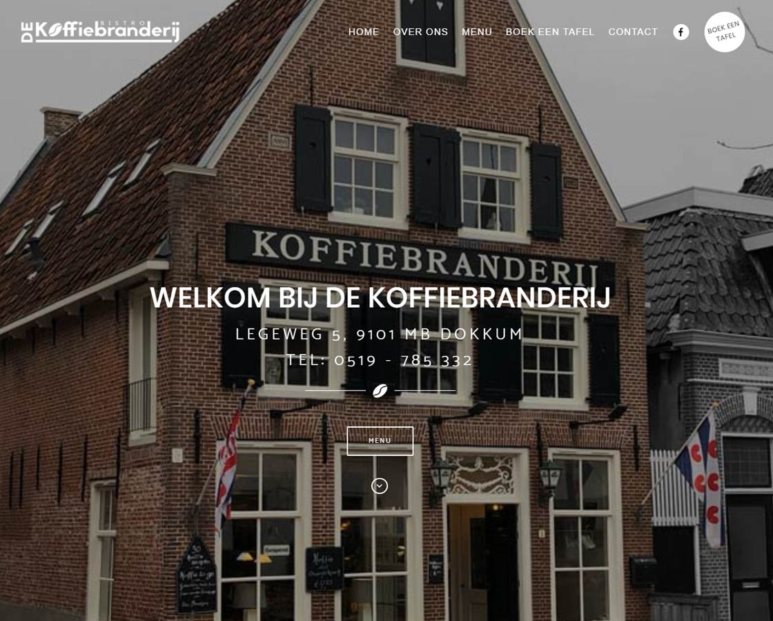 Website_Bistro_de_Koffiebranderij_website_maken_Hoorn_Alkmaar_Friesland_Dokkum_Leeuwarden