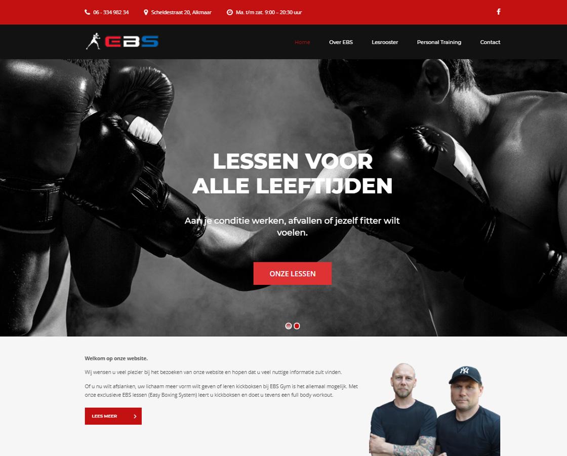 Website_Kickboksschool_Alkmaar