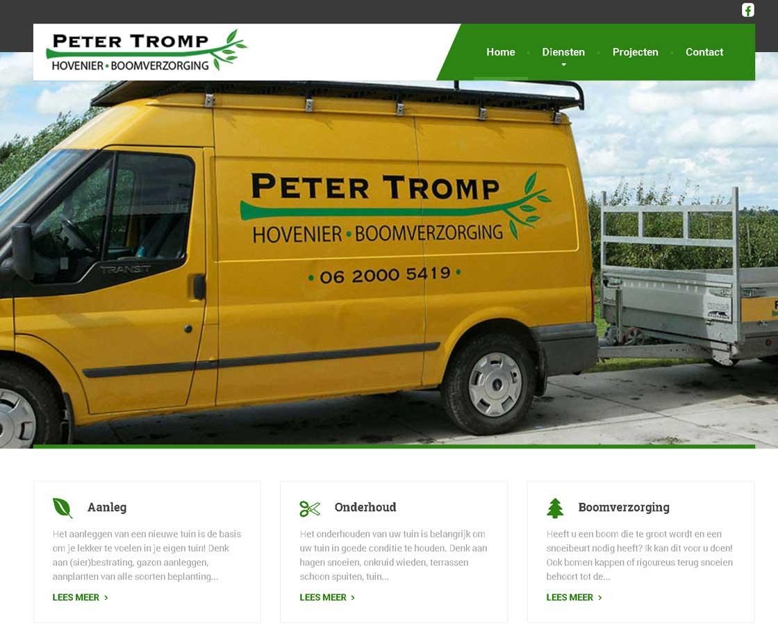 Website_PeterTromp_website_maken_hovenier_Bergen_Alkmaar