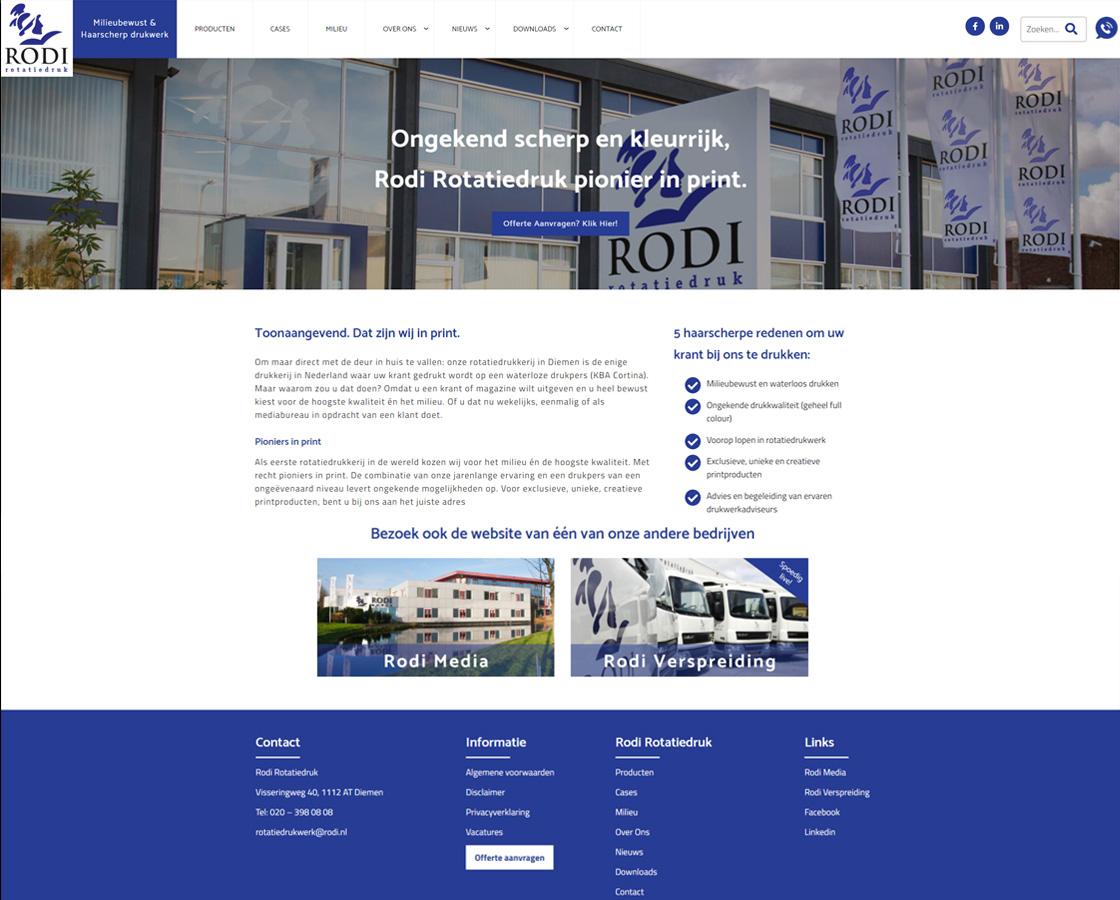 Wordpress_website_RodiRotatiedruk__website_maken_drukkerij_Alkmaar_Amsterdam